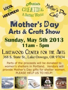 MOTHERS DAY CRAFT SHOW
