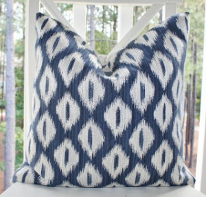 Ikat Pillow from MOTIF PILLOWS