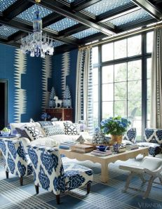 Carol Kincaid design from House Beautiful