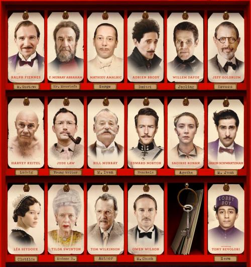Grand Budapest Hotel cast