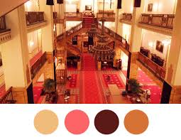 Budapest Hotel colors